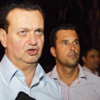 Kassab, ao lado de Michels, assinou liberação para início das obras - Foto: Divulgação