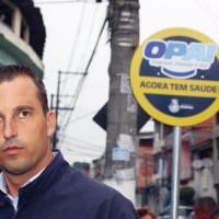 """Lauro Michels: """"não tem diálogo com o PT. Tem com a população"""". Foto: Eberly Laurindo"""